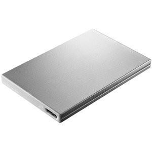 アイ・オー・データ機器 USB3.0/2.0対応 外付けポータブルハードディスク 「カクうす9」 シルバー 500GB HDPX-UT500SB|redheart