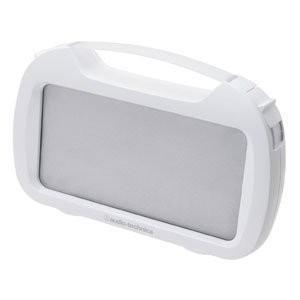 オーディオテクニカ アクティブスピーカー(防水タイプ) ホワイト AT-SPP400W WH|redheart