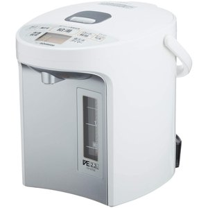 象印 マイコン沸とうVE電気まほうびん 優湯生 2.2L ホワイト CV-GT22-WA|redheart