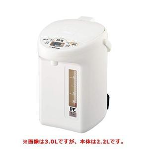 象印 マイコン沸とうVE電気まほうびん 2.2L ホワイトZOJIRUSHI 優湯生(ゆうとうせい) CV-TZ22-WA|redheart