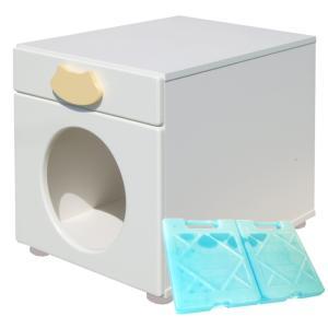ペットハウス「オアシス 縦置き型」 犬,猫,ペットの暑さ対策、熱中症予防に室内用ひんやりハウス (キャット)|redheart