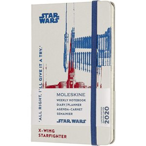 Moleskine Limited Edition Star Wars 12 Month 2020 Weekly Planner, Hard Cove|redheart