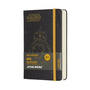 Moleskine Limited Edition Star Wars, 12 Month Daily Planner, Pocket, BB-8 (|redheart