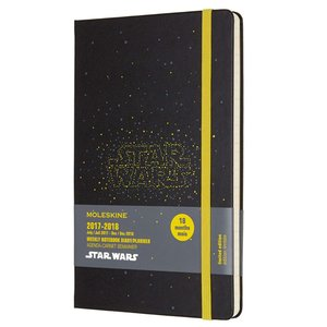 Moleskine Limited Edition Star Wars, 18 Month Weekly Planner, Large, Logo (|redheart