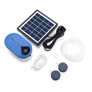 MIFO ソーラーエアポンプ 酸素ポンプ ソーラー充電 USBも対応 2WAY 静音設計 強 弱 間欠 3モード ポータブル式エアポンプ 長待機 停電|redheart
