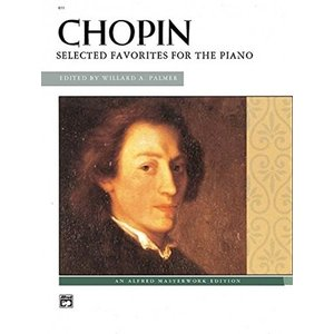 Chopin: Selected Favorites for the Piano (Alfred Masterwork Edition)|redheart