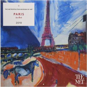 Paris in Art 2019 Calendar|redheart