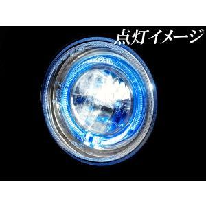 モンキー純正ヘッドライト用 ブルーイカリング付 LEDヘッドライトユニット B_田中商会直営店|redmotoparts