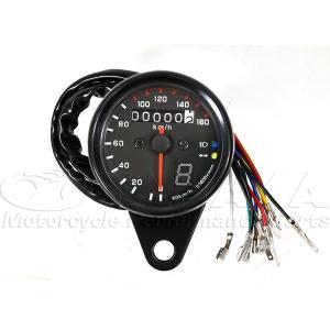 汎用(12V) 160km表示スピードメーター(ギアポジション表示付)_田中商会直営店|redmotoparts