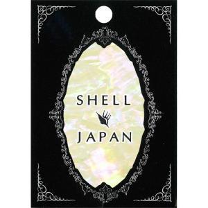SHELL JAPAN(シェルジャパン)シェルシール クリスタルホワイト JP-1【ネイルシール】
