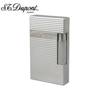 S.T.DUPONT デュポン ライター16184ライン2シルバープレート|redrose