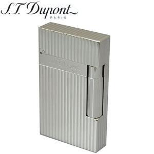 S.T.DUPONT デュポン ライター16817ライン2シルバープレート|redrose