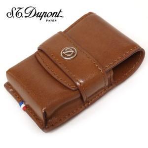 S.T.DUPONT デュポン ライターケース 180124 ブラウン|redrose