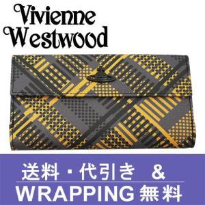 Vivienne Westwood ヴィヴィアン ウエストウッド 長財布 レディース 2801V 73V TECHNO TARTAN ANTRACITE|redrose