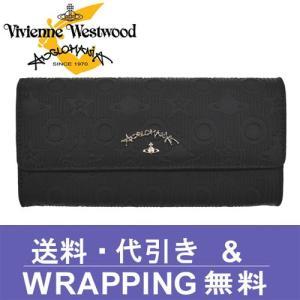 Vivienne Westwood ANGLOMANIA ヴィヴィアン ウエストウッド アングロマニア 長財布 レディース 390011 CHILHAM BLACK redrose