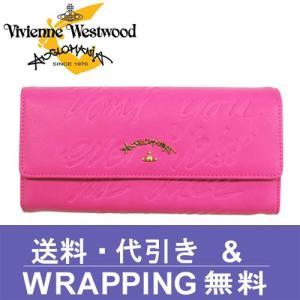 Vivienne Westwood ANGLOMANIA ヴィヴィアン ウエストウッド アングロマニア 長財布 レディース 390021 SALCOMBE PINK|redrose