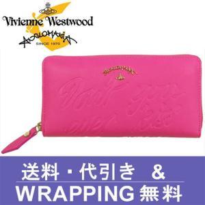 Vivienne Westwood ANGLOMANIA ヴィヴィアン ウエストウッド アングロマニア 長財布 レディース 390022 SALCOMBE PINK redrose