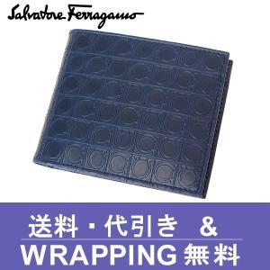 Ferragamo フェラガモ 二つ折り財布(小銭入れあり) 66 9685 01 0572514|redrose