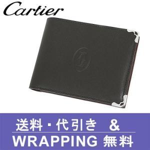 カルティエ Cartier 財布 二つ折り財布(小銭入れあり) メンズ マスト(カボション) L3000595/L3001369 redrose