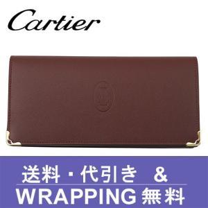カルティエ Cartier 長財布(小銭入れあり) レディース マスト L3001362 redrose