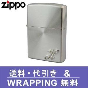 zippo ジッポ ライター イニシャルメタル (H) SSP-H ZP177|redrose