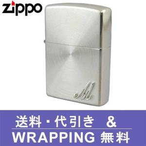 zippo ジッポ ライター イニシャルメタル (M) SSP-M ZP181|redrose