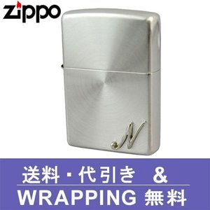zippo ジッポ ライター イニシャルメタル (N) SSP-N ZP182|redrose