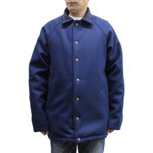 9b70f7834c63 Oregonian Outfitters OOJ-804 PORTLANDER WOOL COAT ポートランド ウール コート MENS メンズ  冬物 アメリカ製 Navy ネイビー Lサイズ
