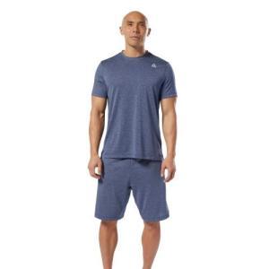 セール価格 リーボック公式 Tシャツ Reebok WOR MELANGE TECH TOP- REG|reebok