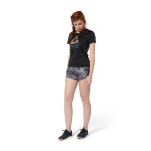アウトレット価格 リーボック公式 Tシャツ Reebok ランニング グラフィック Tシャツ