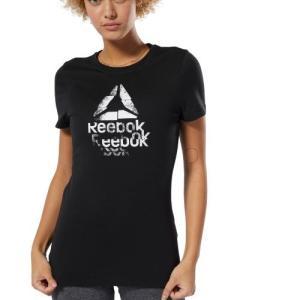 セール価格 リーボック公式 Tシャツ Reebok GS テクスチャーDeltaロゴ ショートスリーブTシャツ|reebok