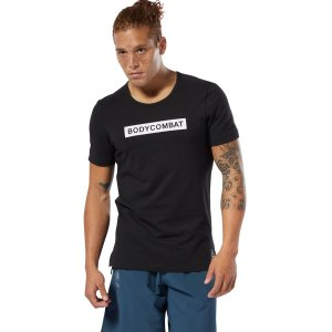 ボディコンバット(格闘技ベースのエアロビクス)に最適なレズミルズメンズTシャツです。吸汗速乾性の高い...