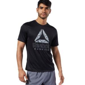 セール価格 リーボック公式 Tシャツ Reebok ランニング グラフィック Tシャツ