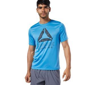 セール価格 リーボック公式 半袖Tシャツ Reebok ランニング グラフィック Tシャツ ランニングウェアの商品画像|ナビ