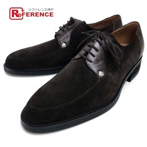 Gianni Versace ジャンニ・ヴェルサーチ レースアップシューズ メデューサ 靴その他 ダークブラウン メンズ 【中古】 reference