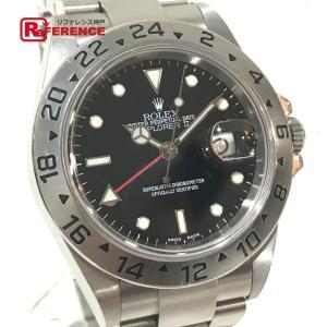 ROLEX ロレックス 16570 エクスプローラーII オイスターパーペチュアル 腕時計 シルバー メンズ 【中古】|reference