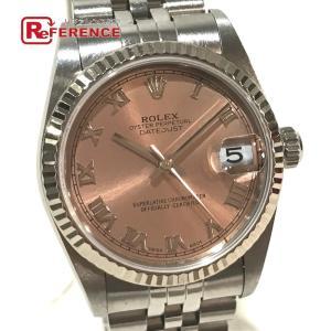 ROLEX ロレックス 78274 デイトジャスト オイスターパーペチュアル デイト ローマインデックス 腕時計 ホワイトゴールド ボーイズ 【中古】|reference