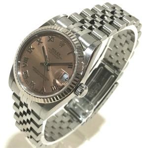ROLEX ロレックス 78274 デイトジャスト オイスターパーペチュアル デイト ローマインデックス 腕時計 ホワイトゴールド ボーイズ 【中古】|reference|02