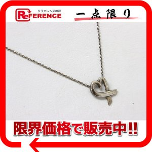 TIFFANY&Co. ティファニー ラビングハート ペンダント ネックレス SV925 【中古】 KK|reference