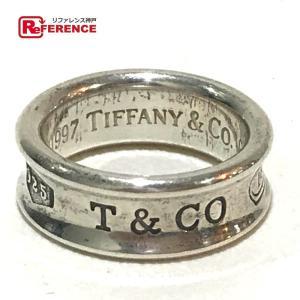 TIFFANY&Co. ティファニー 1837 ナロー 指輪 リング・指輪 9号 シルバー レディース 【中古】|reference