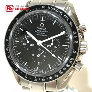 OMEGA オメガ 311.30.44.50.01.001 スピードマスター デイト コーアクシャル 金属ベルト 腕時計 シルバー メンズ 【中古】 reference