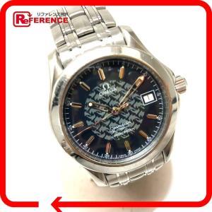 OMEGA オメガ 2500.80 シーマスター ジャックマイヨール 1997 腕時計 シルバー メンズ 【中古】 reference