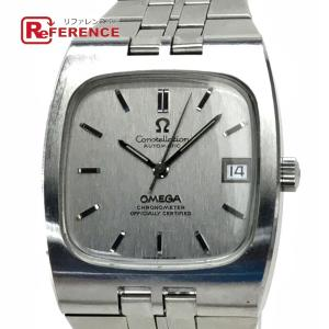 OMEGA オメガ コンステレージョン クロノメーター 腕時計 シルバー メンズ 【中古】 reference
