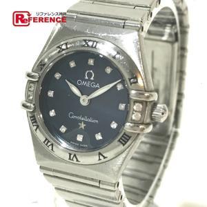 OMEGA オメガ コンステレーション ミニマイチョイス 12Pダイヤ 腕時計 シルバー レディース 【中古】 reference