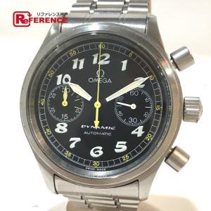 OMEGA オメガ 5240.50 ダイナミック クロノグラフ 腕時計 シルバー メンズ 【中古】 reference