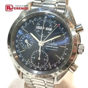 OMEGA オメガ 3521.80 スピードマスター クロノグラフ トリプルカレンダー 腕時計 シルバー メンズ 【中古】|reference