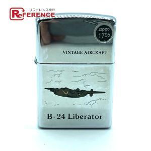 ZIPPO ジッポ VINTAGE AIRCRAFT B-24 Liberator 1994年 ライター シルバー メンズ 【中古】|reference