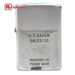 ZIPPO ジッポ オイルライター H.C.BAKER SALES CO.  ライター シルバー  ユニセックス 【中古】|reference