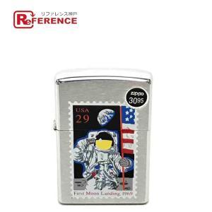 ZIPPO ジッポ 月面着陸記念 USA29 ライター シルバー ユニセックス 【中古】|reference