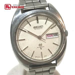 SEIKO セイコー 5646-7000 グランドセイコー ハイビート 腕時計 シルバー メンズ 【中古】 reference